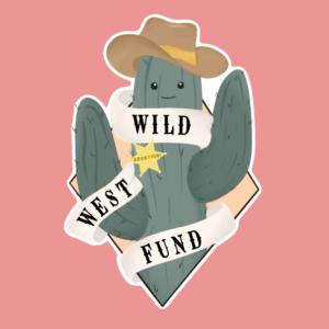 Wild West Fund logo with pink background